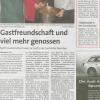 Kadın cemaatimizden bir grub Alman kadınlara İftar yemeği