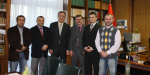 (Türkisch) Yeni Yönetim Kurulu  Dr.Hakan AKBULUT'u Ziyaret Etti
