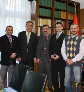 Yeni Yönetim Kurulu  Dr.Hakan AKBULUT'u Ziyaret Etti