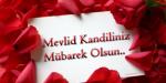(Türkisch) Mevlid Kandiliniz Mübarek Olsun